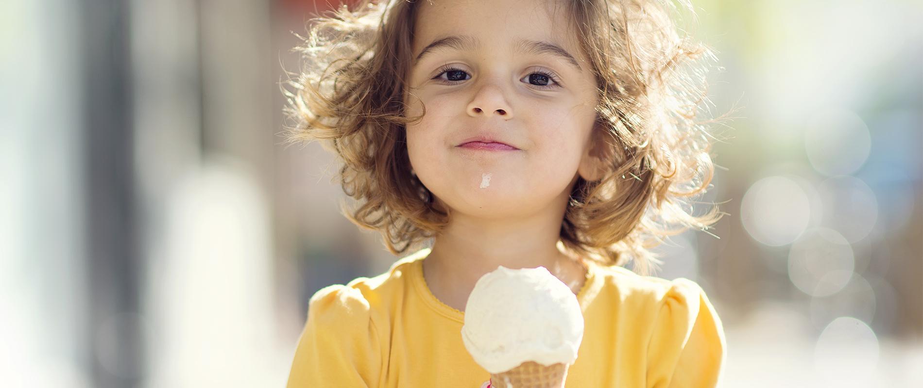 Con un gelato regali un sorriso